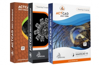 ActCAD 2021  - Intellicad 10